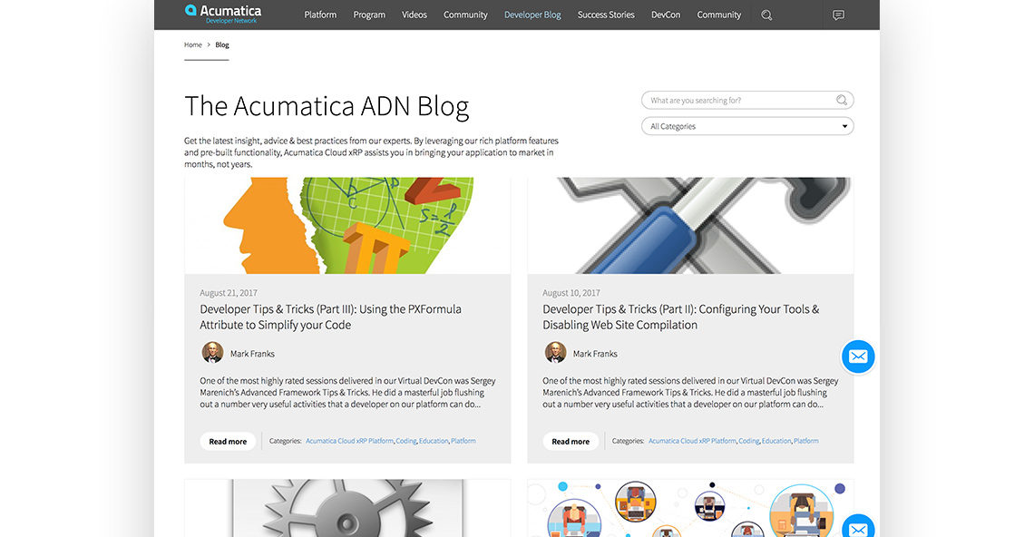 Acumatica Developers Network