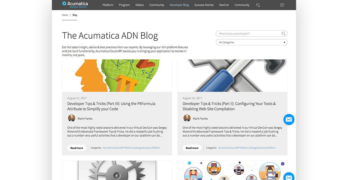 Acumatica Developers Network
